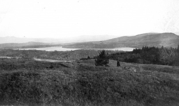 From the top of City Hill, overlooking Spoonwood and Nubanusit, 1906