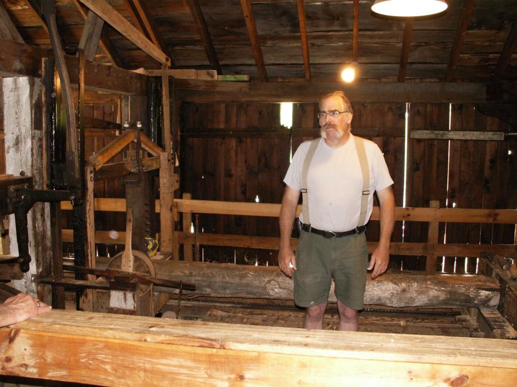 Bob Spoerl, operator of Taylor Mill